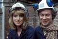 Selina Scott and weather presenter Francis Wilson
