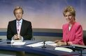 Nicholas Witchell and the late Jill Dando