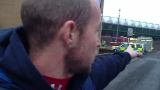 Eyewitness Craig Dunne