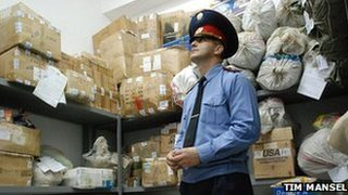 Drugs seized by Tajik Drug Control Agency