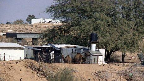 Bedouin houses