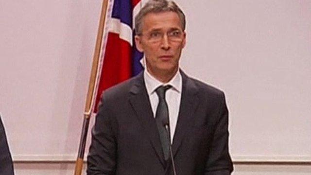Norwegian Prime Minister Jens Soltenberg