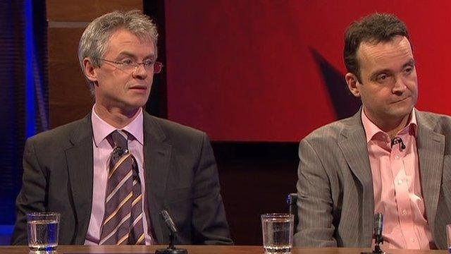 Joe Brolly and Shane Finnegan on the Stephen Nolan Show