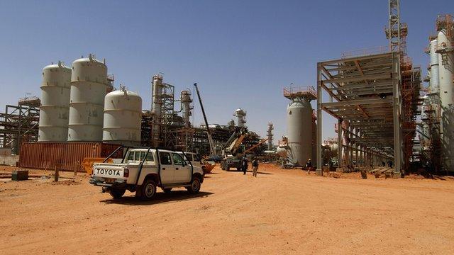 In Amenas gas field