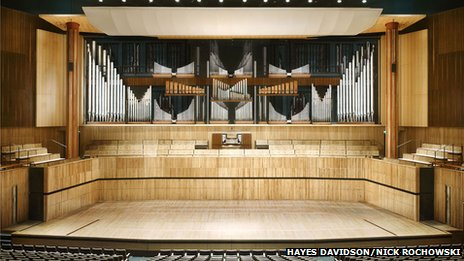 How the Royal Festival Hall organ will look once it is fully restored