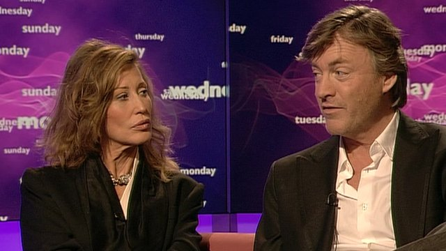 Paula Hamilton and Richard Madeley