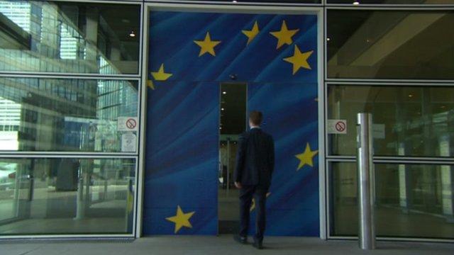 EU door