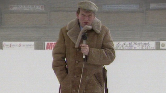 John Motson reports from Wycombe in 1990