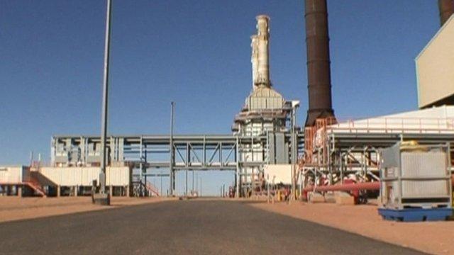Algerian gas plant