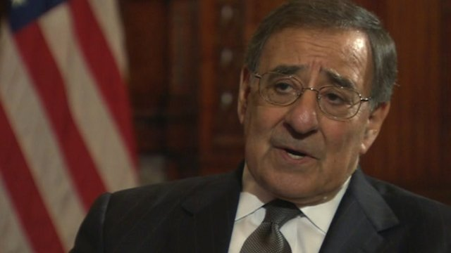 US Secretary of Defence Leon Panetta