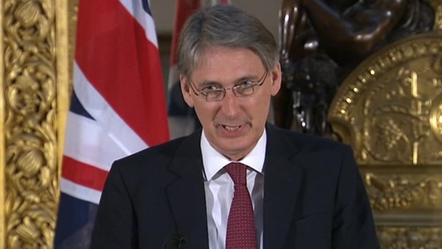 Defence Secretary, Philip Hammond