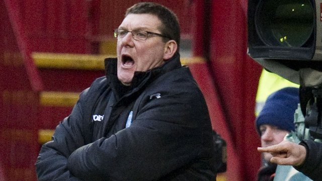 St Johnstone assistant manager Tommy Wright