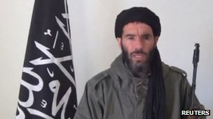 Mokhtar Belmokhtar, who has claimed responsibility for the attack on In Amenas
