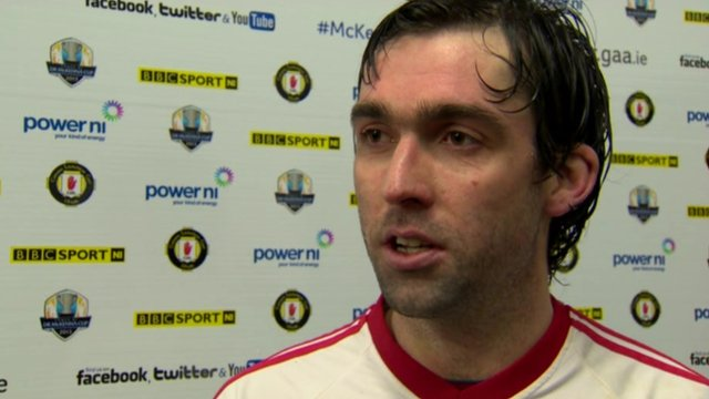 Tyrone's Joe McMahon said that the margin of his team's 2-9 to 0-7 McKenna Cup semi-final win over Fermanagh flattered the Red Hands