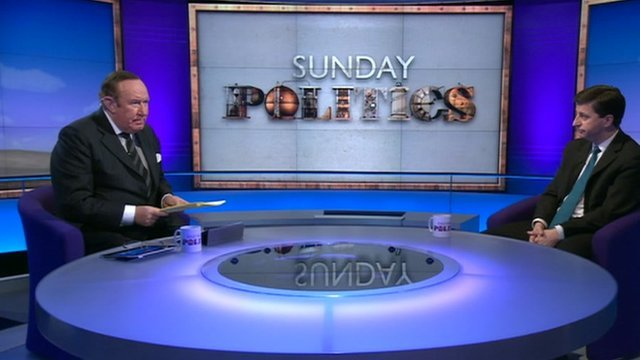 Andrew Neil and Douglas Alexander