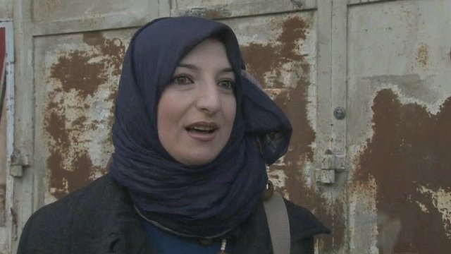 Ramallah resident Suha Zayid