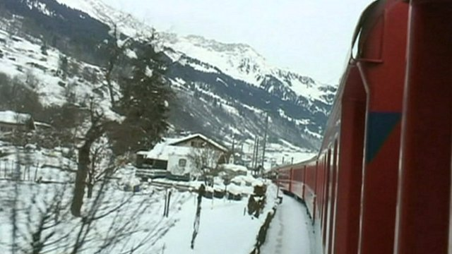 Train to Davos