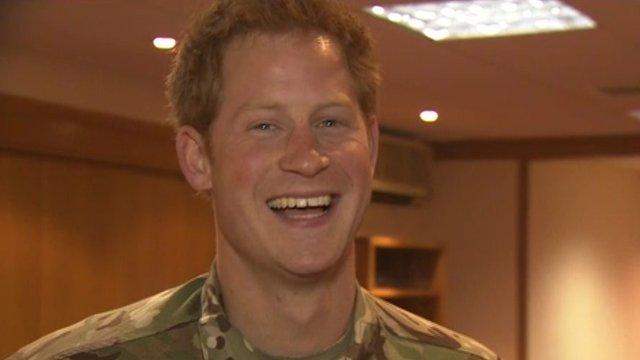 Prince Harry has arrived back at RAF Brize Norton