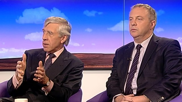 Jack Straw and John Mann