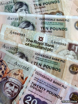 Scottish notes