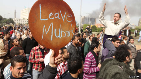 Anti-government protests in Egypt