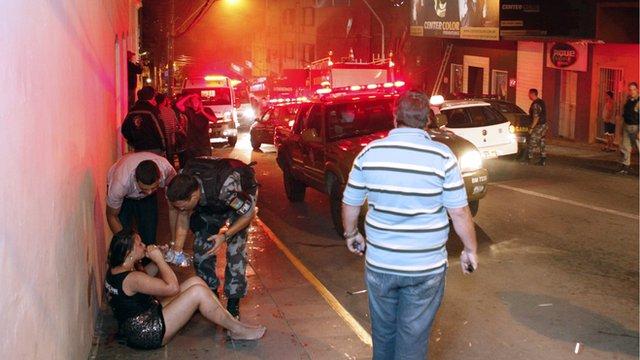 Survivors speak of the deadly fire at Brazilian nightclub