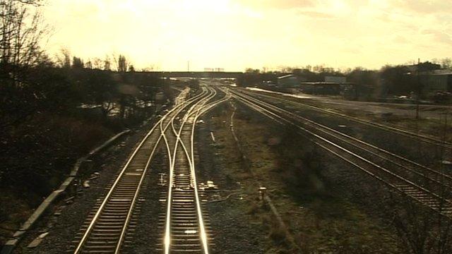Toton sidings