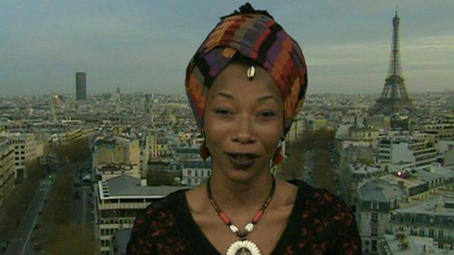 Singer Fatoumata Diawara