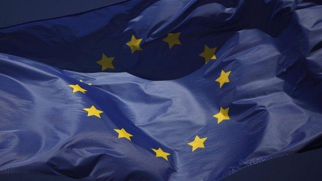 The European flag