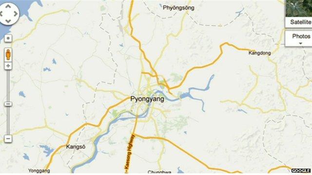 Image of North Korea courtesy of Google