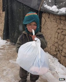 Janan, Naghma's three-year-old brother who died this winter