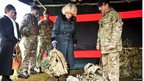 The Duchess of Cornwall visiting Bulford Camp