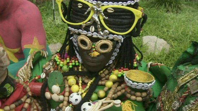 Burkina Faso's team witch doctor