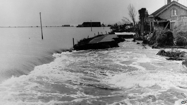 Flooding in the Netherlands in 1953
