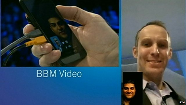 BBM video feature