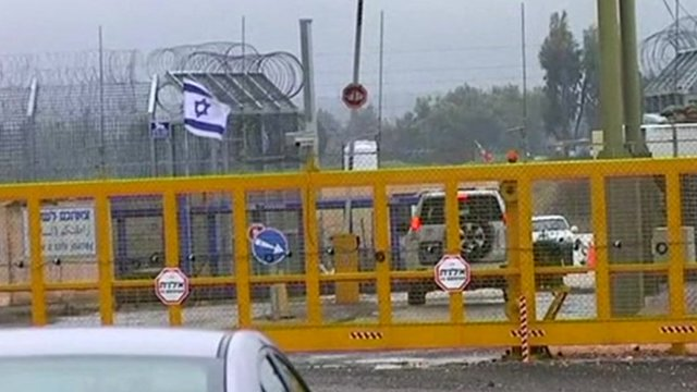Israel's northern border