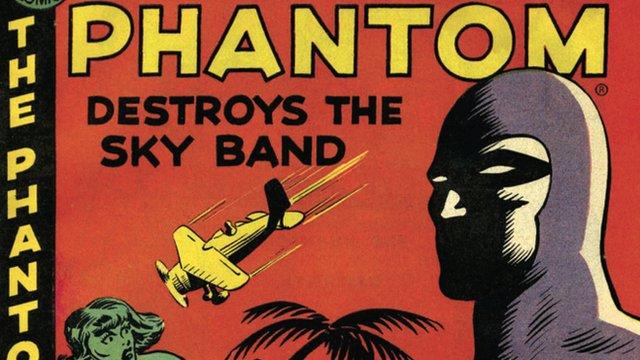 The Phantom comic book cover