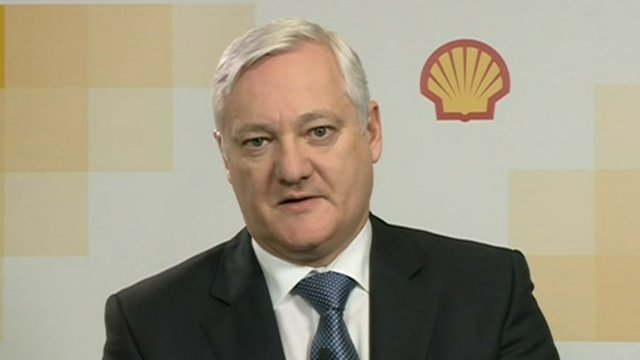 Shell chief executive Peter Voser