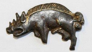 Boar badge found at Bosworth