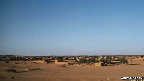 A view of Kidal in northern Mali (archive shot)
