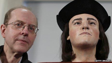 Richard III facial reconstruction and Michael Ibsen
