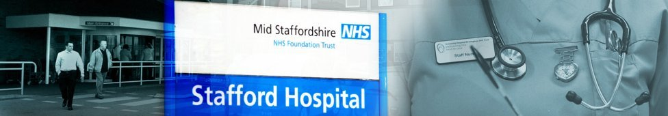 Staffordshire hospital sign
