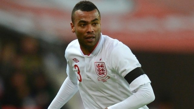 England and Chelsea left-back Ashley Cole