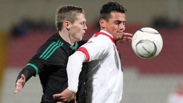 Northern Ireland drew 0-0 in Malta