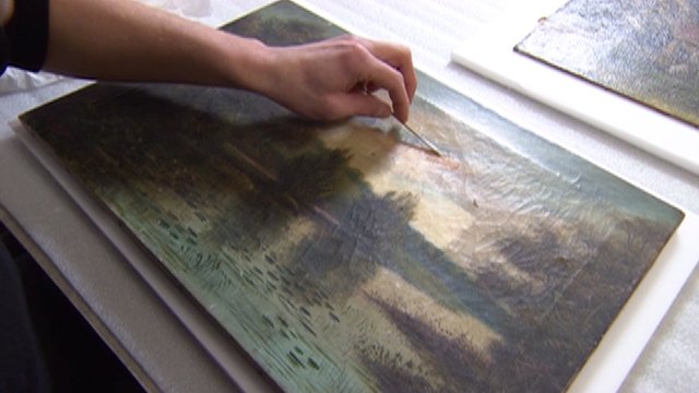Restoring picture at the University of Cambridge