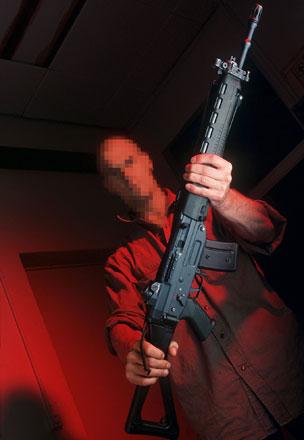 SG550, also known as Sturmgewehr 90