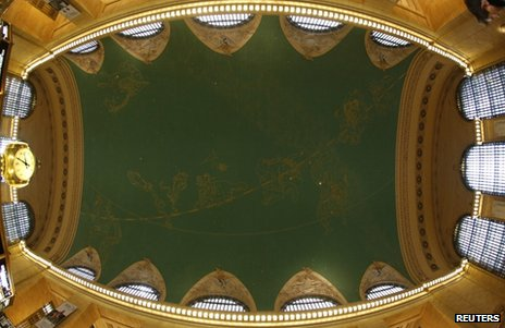 Ceiling of Grand Central