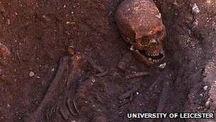 Richard III's skeleton