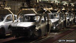 car plant in Sunderland