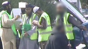 Irfan Naseer and others collecting for cash